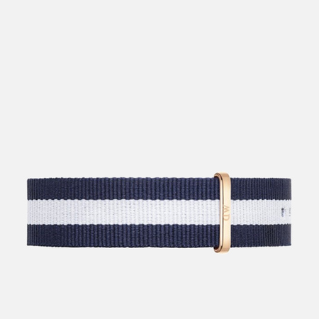 Ремешок для часов Daniel Wellington Classic Glasgow 20mm Blue/White/Gold