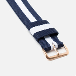 Ремешок для часов Daniel Wellington Classic Glasgow 20mm Blue/White/Gold фото- 2
