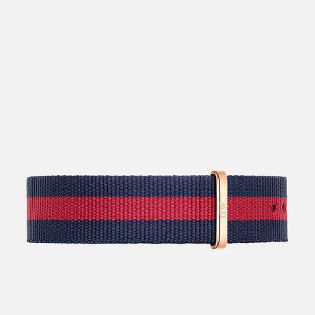 Ремешок для часов Daniel Wellington Classic Oxford 20mm Blue/Red/Gold