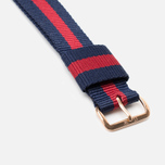 Ремешок для часов Daniel Wellington Classic Oxford 20mm Blue/Red/Gold фото- 2