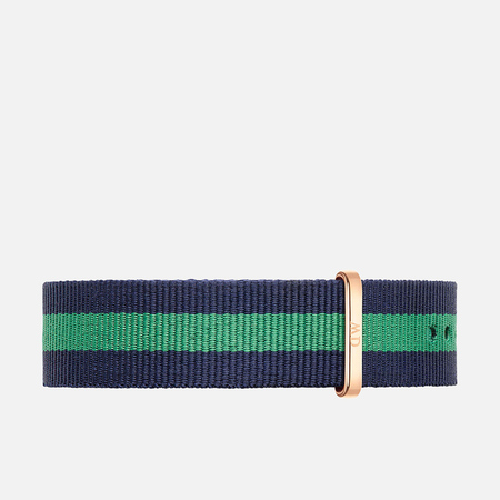 Ремешок для часов Daniel Wellington Classic Warwick 20mm Blue/Green/Gold