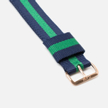 Ремешок для часов Daniel Wellington Classic Warwick 20mm Blue/Green/Gold фото- 2
