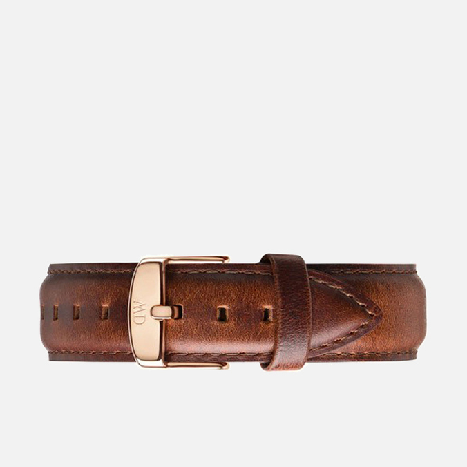 Daniel Wellington Classic St Mawes Women's Watch Strap Brown/Rose Gold