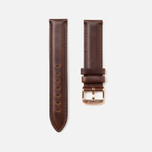 Daniel Wellington Classic St Mawes Women's Watch Strap Brown/Rose Gold photo- 1