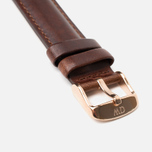Daniel Wellington Classic St Mawes Women's Watch Strap Brown/Rose Gold photo- 2