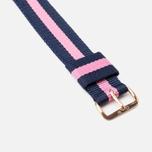 Daniel Wellington Classic Winchester Women's Watch Strap Blue/Pink/Gold photo- 2
