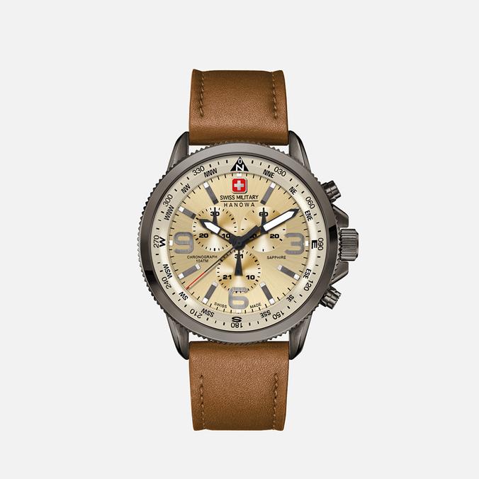 Мужские наручные часы Swiss Military Hanowa Arrow Black/Beige