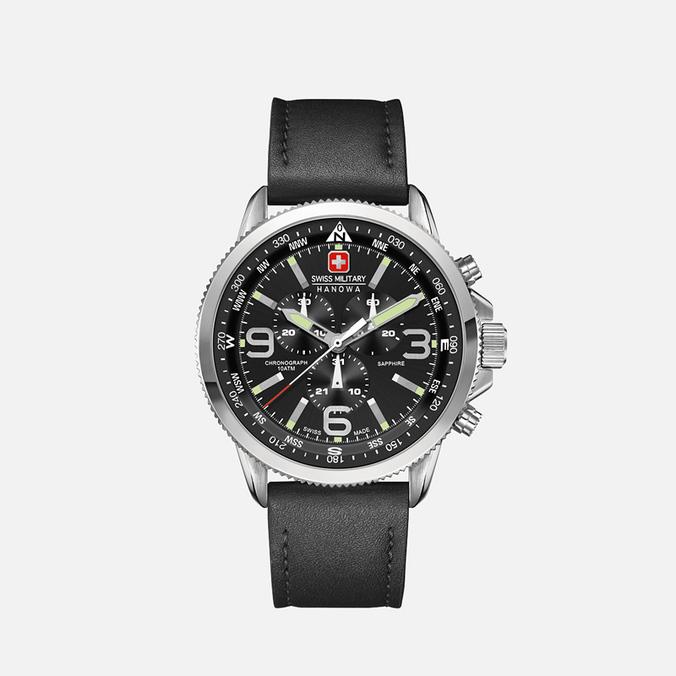 Мужские наручные часы Swiss Military Hanowa Arrow Silver/Black
