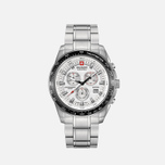 Мужские наручные часы Swiss Military Hanowa Crusader Silver/Black фото- 0