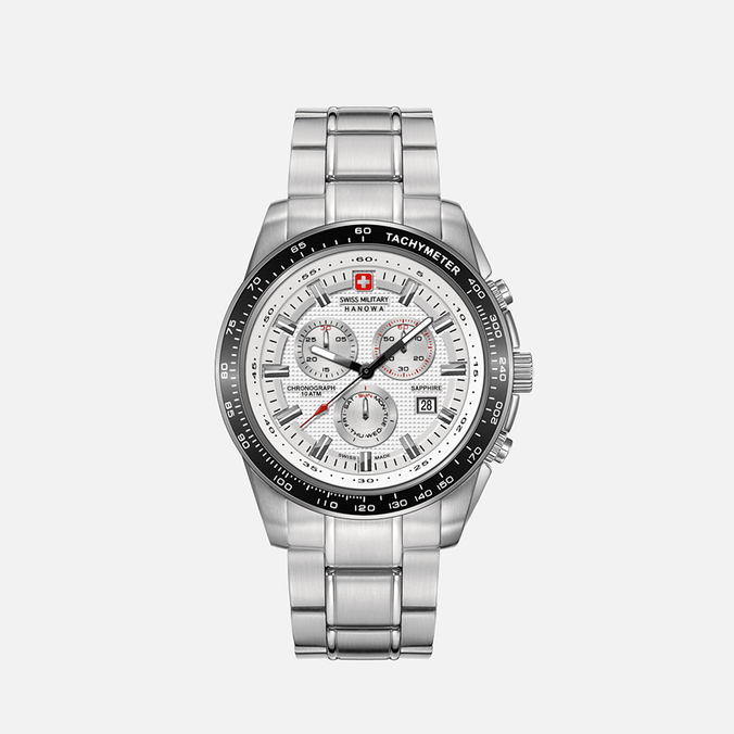 Мужские наручные часы Swiss Military Hanowa Crusader Silver/Black