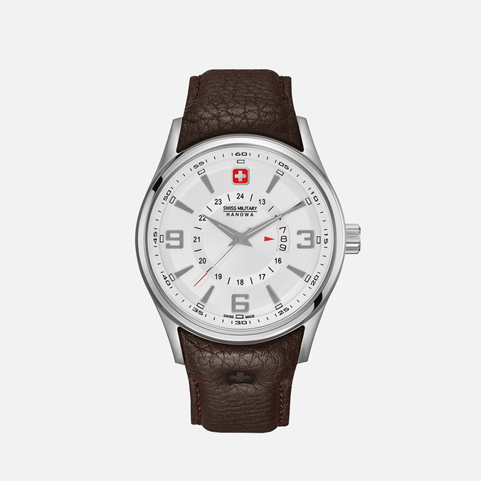 Мужские наручные часы Swiss Military Hanowa Navalus Silver/White