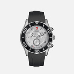 Мужские наручные часы Swiss Military Hanowa Oceanic Chrono Black/Silver фото- 0