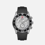 Мужские наручные часы Swiss Military Hanowa Oceanic Chrono Black/Silver фото- 0