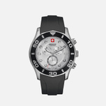 Мужские наручные часы Swiss Military Hanowa Oceanic Chrono Black/Silver фото- 1