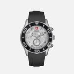 Мужские наручные часы Swiss Military Hanowa Oceanic Chrono Black/Silver фото- 1