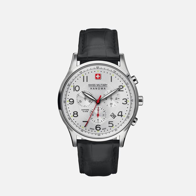 Мужские наручные часы Swiss Military Hanowa Patriot Silver