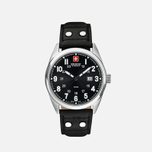 Мужские наручные часы Swiss Military Hanowa Sergeant Silver/Black фото- 0