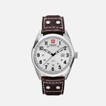 Мужские наручные часы Swiss Military Hanowa Sergeant Silver/White фото- 0