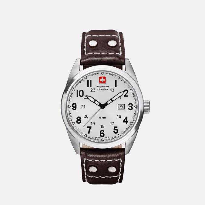 Мужские наручные часы Swiss Military Hanowa Sergeant Silver/White