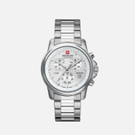 Мужские наручные часы Swiss Military Hanowa Swiss Recruit Chrono Silver фото- 0