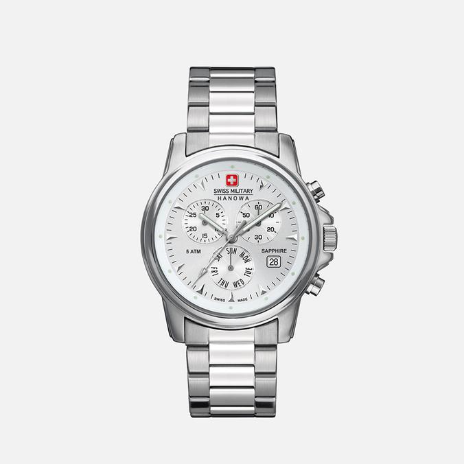 Мужские наручные часы Swiss Military Hanowa Swiss Recruit Chrono Silver