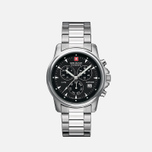 Мужские наручные часы Swiss Military Hanowa Swiss Recruit Chrono Silver/Black фото- 0