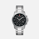Мужские наручные часы Swiss Military Hanowa Swiss Recruit Chrono Silver/Black фото- 1