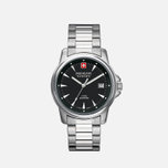 Мужские наручные часы Swiss Military Hanowa Swiss Recruit Silver/Black фото- 1