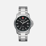 Мужские наручные часы Swiss Military Hanowa Swiss Recruit Silver/Black фото- 0