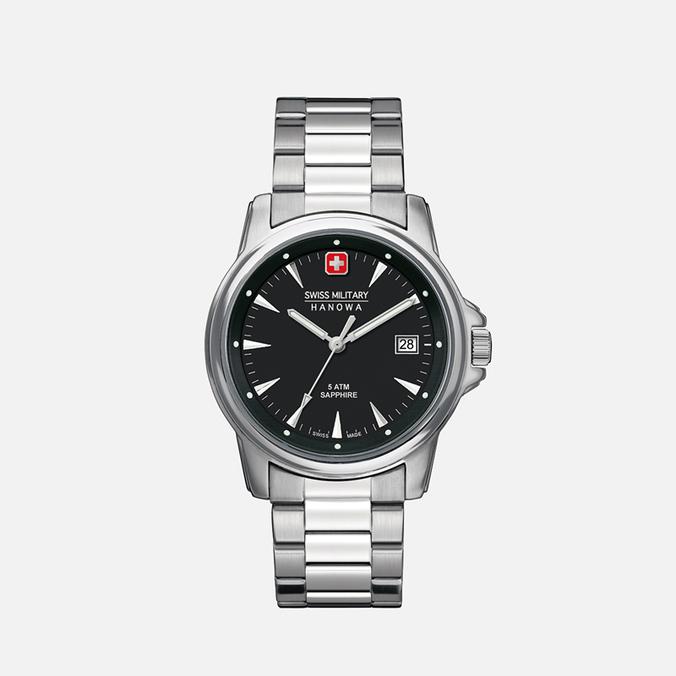 Мужские наручные часы Swiss Military Hanowa Swiss Recruit Silver/Black