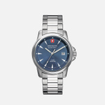 Мужские наручные часы Swiss Military Hanowa Swiss Recruit Silver/Blue фото- 0