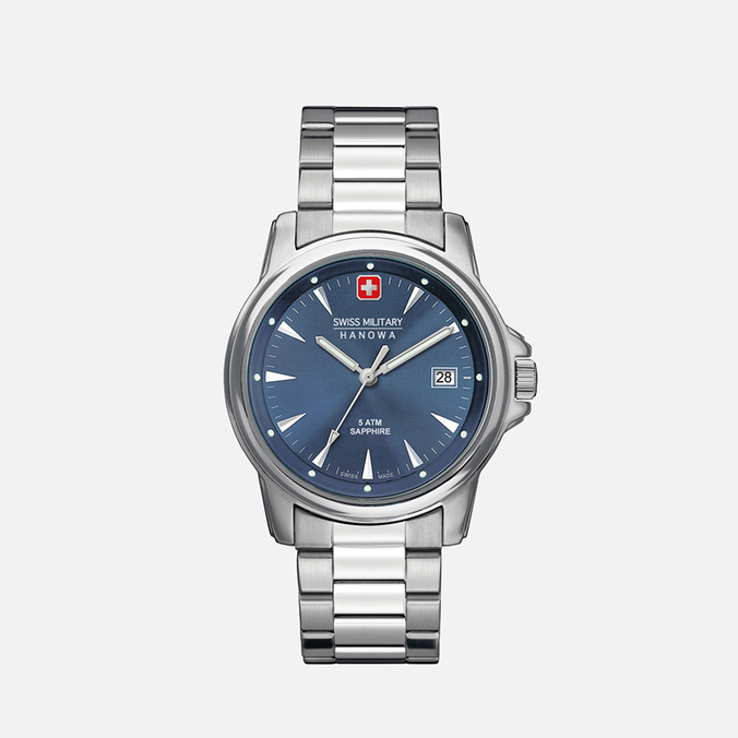 Мужские наручные часы Swiss Military Hanowa Swiss Recruit Silver/Blue
