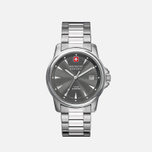 Мужские наручные часы Swiss Military Hanowa Swiss Recruit Silver/Dark Grey фото- 1