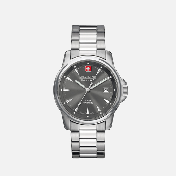 Мужские наручные часы Swiss Military Hanowa Swiss Recruit Silver/Dark Grey