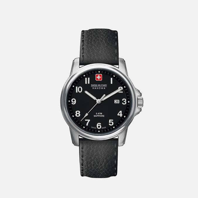 Мужские наручные часы Swiss Military Hanowa Swiss Soldier Black/Silver