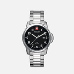 Мужские наручные часы Swiss Military Hanowa Swiss Soldier Silver/Black фото- 1