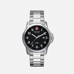 Мужские наручные часы Swiss Military Hanowa Swiss Soldier Silver/Black фото- 0
