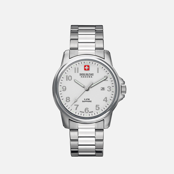 Swiss Military Hanowa Swiss Soldier Men's Watch Silver/White