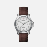 Мужские наручные часы Swiss Military Hanowa Swiss Soldier Silver/White/Brown фото- 0