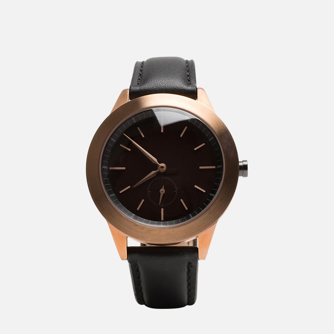 Наручные часы Uniform Wares 351 Series RG-01 Rose Gold/Black