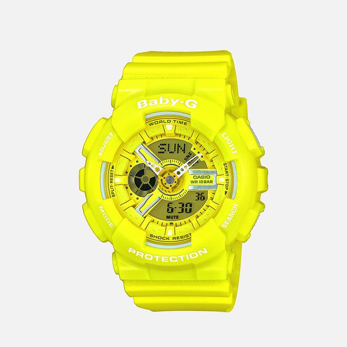 Женские наручные часы Casio Baby-G BA-110BC-9AER Yellow