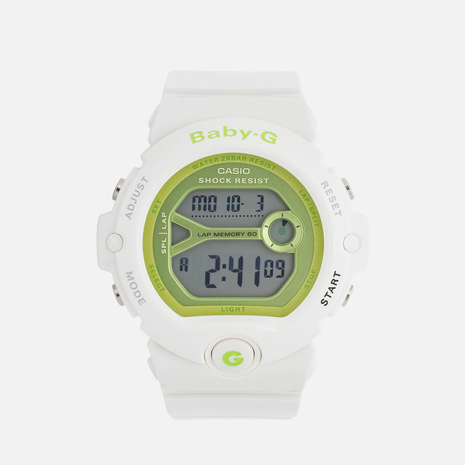 Женские наручные часы CASIO Baby-G BG-6903-7ER White/Green