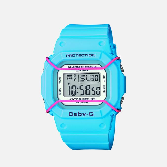 Женские наручные часы CASIO Baby-G BGD-501-2ER Light Blue