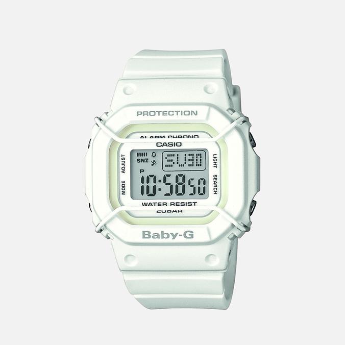 Женские наручные часы CASIO Baby-G BGD-501-7ER White
