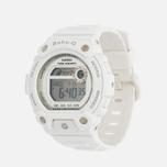 Женские наручные часы CASIO Baby-G BLX-100-7ER White/Silver фото- 1