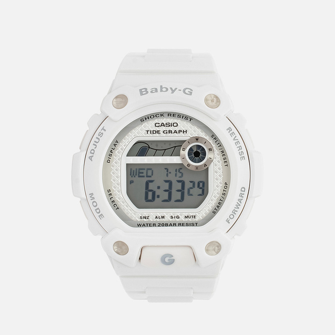 Женские наручные часы CASIO Baby-G BLX-100-7ER White/Silver
