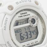 Женские наручные часы CASIO Baby-G BLX-100-7ER White/Silver фото- 2