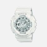 Женские наручные часы CASIO Baby-G BA-110-7A3ER White фото- 0