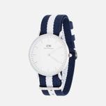 Женские наручные часы Daniel Wellington Classic Glasgow Silver фото- 1