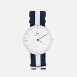 Женские наручные часы Daniel Wellington Classic Glasgow Silver фото- 0